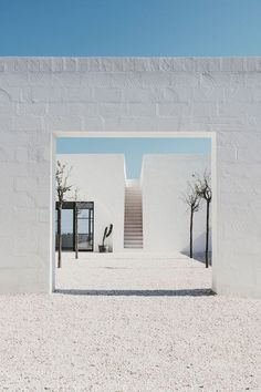 Design Within Reach — salvalopez: Masseria Moroseta, Puglia. May… Design Within Reach — salvalopez: Masseria Moroseta, Puglia. Architecture Design Concept, Detail Architecture, Plans Architecture, Minimal Architecture, Interior Architecture, Interior And Exterior, Contemporary Architecture, Garden Architecture, Farmhouse Architecture