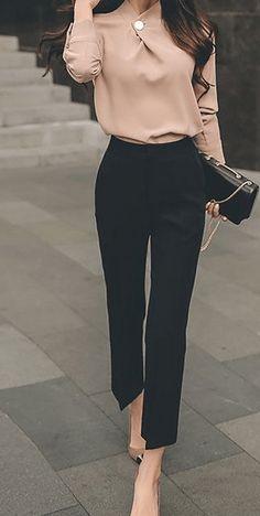 Pantalones De Vestir Para Dama Modernos Tienda Online De Zapatos Ropa Y Complementos De Marca