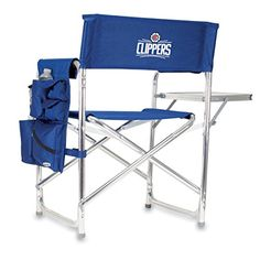 NBA Los Angeles Clippers Portable Folding Sports Chair Navy >>> Be sure to check out this awesome product.