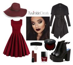 """""""Twinkle autumn set"""" by mercija ❤ liked on Polyvore featuring Halogen and BCBGeneration"""