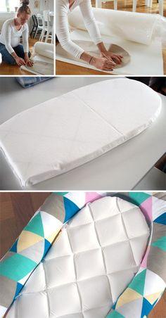 artesanía de Tina: cómo hacer nuestra propia babynest !!!