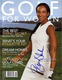976adf57ed8 Beverly Johnson autographed 2004 Golf for Women magazine  ladiesgolfwomen  Golf Exercises