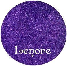 Purple Eyeshadow LENORE Mineral makeup by SpectrumCosmetic on Etsy