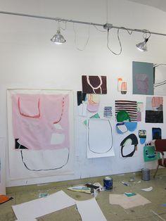 Sarah Boyts Yoder Studio VCCA Studio Residency 2013