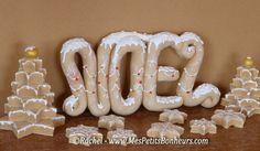 décoration noel pate a sel pain d'épices