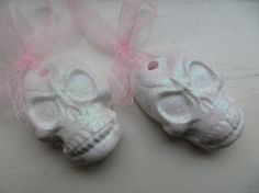 Sugar Skulls Christmas tree ornaments