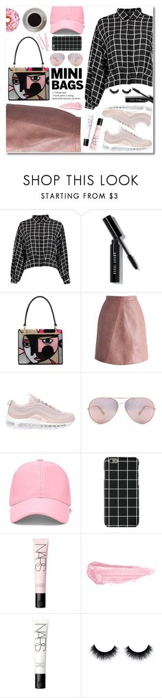 """pink picasso"" by janajane90 ❤ liked on Polyvore featuring Bobbi Brown Cosmetics, Prada, Chicwish, NIKE, Oliver Peoples, Forever 21, BOBBY, NARS Cosmetics, By Terry and Bunn"