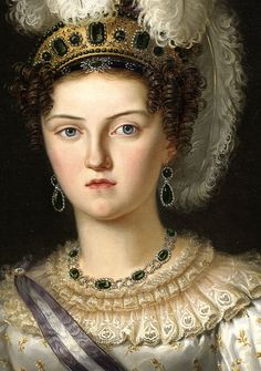 Maria Josepha Amalia of Saxony, Queen of Spain by Francisco Lacoma y Fontanet
