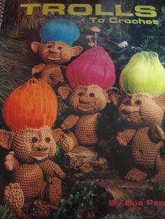 Troll crochet pattern booklet...