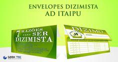 Envelope de Dizimista  -  AD ITAIPU