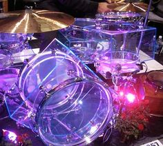 """Square is the New Round The Square Drum people call their system """"Cabinet Enhanced Percussion."""" The idea is that you can increase the volume of the drum to get a bigger sound. The toms in the kit I heard were all using the same diameter heads but had progressively larger boxes between the heads. These are probably the weirdest shaped drums to come out since the North Drums. Square Drum Company (888) 969-3786 www.squaredrums.com"""