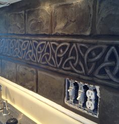 Painting My Kitchen Art By Sandi Van Winkle   Decided To Go With A Celtic