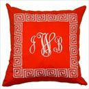 Another Monogrammed Pillow!