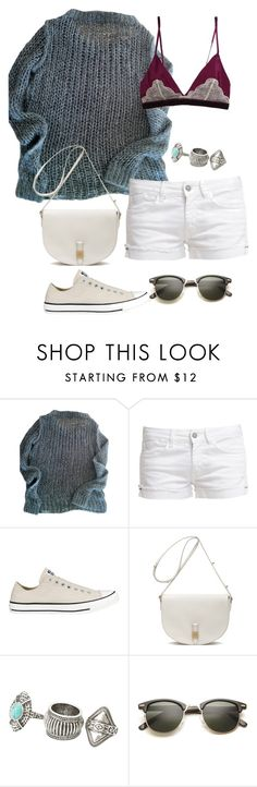 """""""Untitled #2458"""" by meandelstyle ❤ liked on Polyvore featuring AllSaints, Le Temps Des Cerises, Converse, Mulberry and MANGO"""