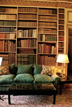 """fluffythings: """"Library @ Leeds Castle, Kent """""""