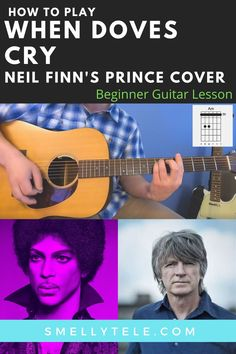 Click here to learn how to play When Doves Cry! You'll find a free video lesson, tabs, and chords & strumming patterns! Easy Electric Guitar Songs, Easy Guitar Songs, 80s Songs, Guitar Tips, Guitar Songs For Beginners, Metal Songs, Guitar Reviews, Guitar Sheet Music, Workout Songs