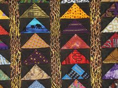 Items similar to Flying to Africa wall hanging. Add bold color to your wall with this African themed art quilt. Stunning fabrics and colors. on Etsy African Quilts, African Fabric, Modern Quilt Patterns, Wall Patterns, African Theme, African Art, Eye Drawing Tutorials, Flying Geese Quilt, African Home Decor