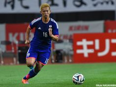 Tsukasa Shiotani - DF - #16 KIRIN CHALLENGE CUP Japan vs. Jamaica at DENKA BIG SWAN STADIUM 2014-10-10