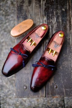 Beautiful Shoes + most extraordinary Artist of Patina = Great Work of Art Ed Et Al + Alexander Nurulaeff