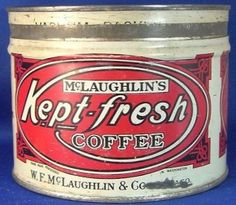 McLaughlin's Kept-fresh Coffee