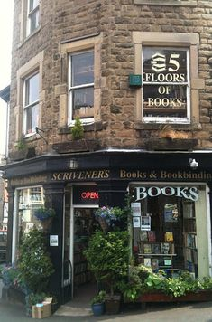 Scrivener's Books, Buxton, England | FIVE FLOORS OF BOOKS