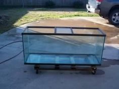 How To Clean Up An All Glass Aquarium And Replace The Silicone From Someone Who…
