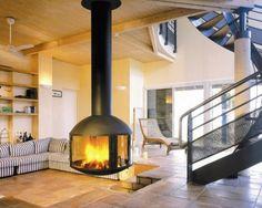 Top 12 Unique Fireplaces | Beautiful Homes Design