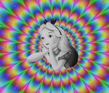 Inspiring image alice, alice in wonderland, awake, blonde, cartoon, chesire cat, colorful, day, dream, drugs, girl, high, lsd, mad hatter, psychedelic, vibrate, wonderland #658226 - Resolution 500x462px - Find the image to your taste
