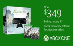 Xbox One to Get a $50 Price Hike on January 3.