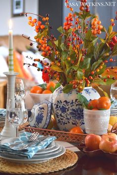 Include Trendy Copper into Your Thanksgiving Tablescape: Create and Share