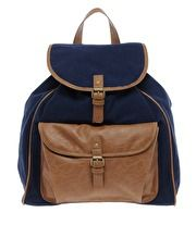 Pieces Orli Leather Backpack