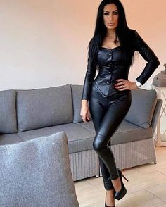 Leather Prerogative — What a wonderful design skirt courte cuir en jean longue fashion indian outfits outfits summer style Leather Trousers, Leather Leggings, Crazy Outfits, Summer Outfits, Confident Woman, Girl Fashion, Womens Fashion, Leather Dresses, Girl Photography