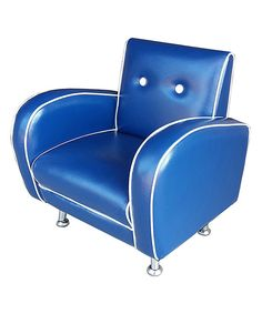 Look at this Blue Flambay Mini Armchair on #zulily today!