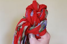 A Step by Step Tutorial on how to Braid a Scarf