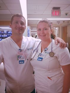 October 8th is Emergency Nurses Day! We send a special thank you to nurses like Corey and Melissa, and all of our emergency nurses here on staff! You all take care of patients and their families in our ER on a daily basis. Your hard work, dedication and service to patients and our hospital is appreciated!  Emergency Nurses Day is part of Emergency Nurses Week. This special week has been sponsored by the Emergency Nurses Association (ENA) since 1989.