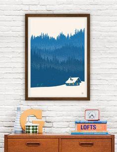 Nordic Ski - plakat