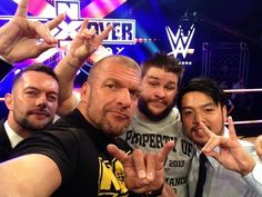 Triple H took a picture with Future WWE Superstars and it is getting us pretty hyped to see these guys in action. www.wweRumblingRumors.com  #WWE   #WWENETWORK   #WRESTLING   #SPORTS   #FANS   #KEVINSTEEN   #KENTA   #princedevitt   #WorldWrestling   #News   #USA   #JAPAN   #unitedkingdom   #Nigeria   #Denver