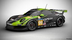 Porsche 911 RSR Livery Design