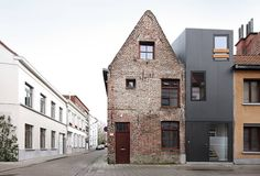 Gelukstraat, Ghent, Belguim  Dierendonck Blancke Architecten