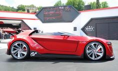 2014 Volkswagen Vision Gran Turismo VW Side Exterior Styling