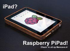 iPad? How about Raspberry PiPad! DIY tablet.