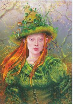 ☆ The Green Witch :¦: Artist Maxine Gadd ☆