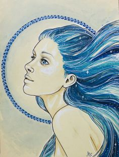 Virgo by MsSophieArt on DeviantArt