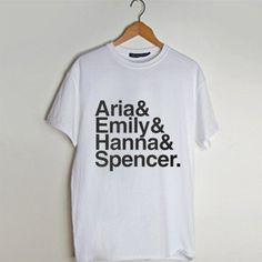Aria Emily Hanna Spencer T Shirt
