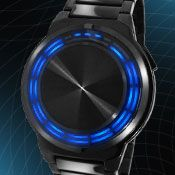 RPM LED Watch.  My answer to Michael Kors watches.  Although, I can't resist those either.  WANT SO BAD.