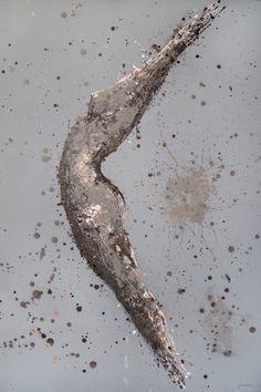 Amonaria Magda Maciaszek, She 1, akryl na płótnie, 120 x 80 cm.