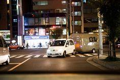 青山通りから骨董通りへ。左折成功!