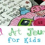 4 Ways to Express Who You Are – Art Journal Activities for Kids and Adults