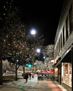 @Emily Fay -- just saw this pic of Ft Collins! Pretty!