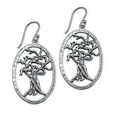 Tree Earrings  http://silverelementscollection.com/collection/tree-earrings